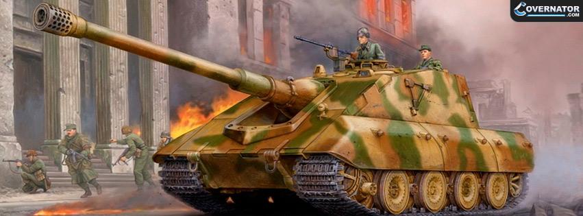 Jagdpanzer E-100 Facebook cover