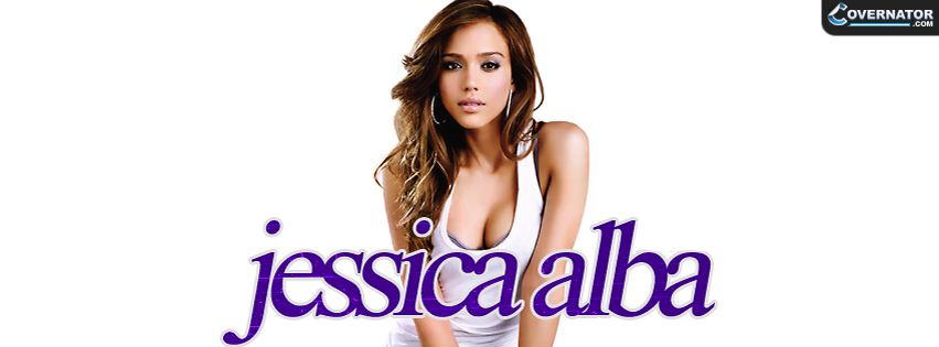 Jessica Alba Facebook cover