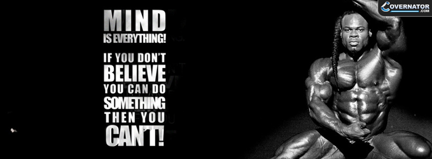 Kai Greene-Mind Is Everything Facebook Cover