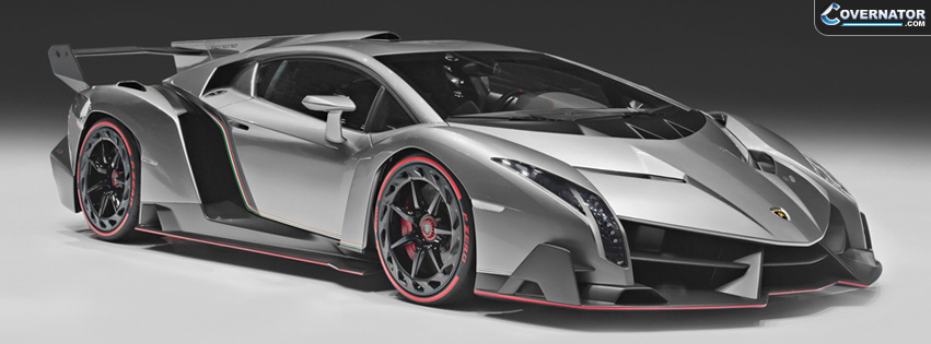 Lamborghini Veneno Facebook covers