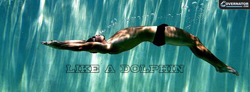 Dolphin Kick on Back Facebook cover