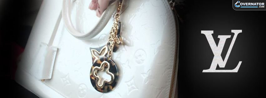 louis vuitton white bag Facebook cover