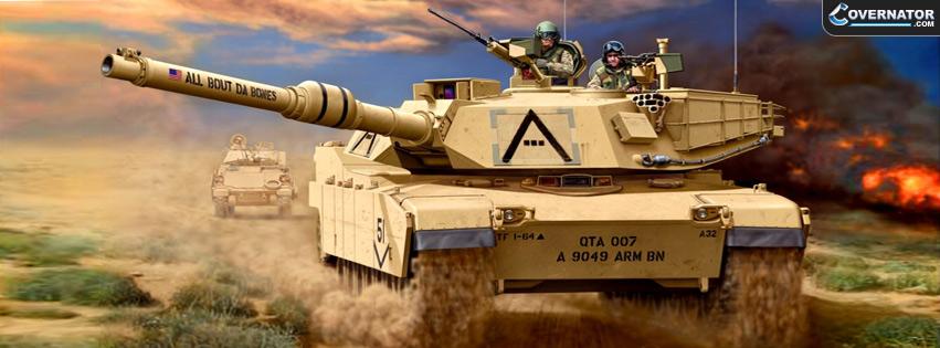 M1A1 (HA) Abrams Facebook Cover