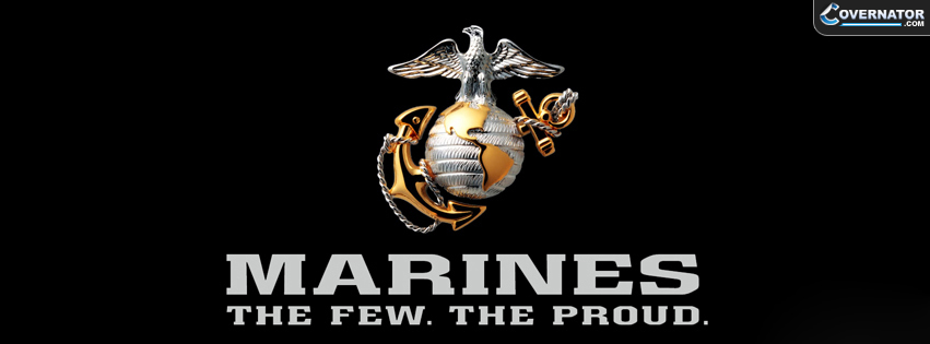 Marines, The Few. The Proud. Facebook Cover