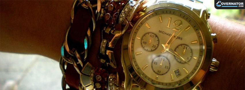 michael kors watch Facebook cover