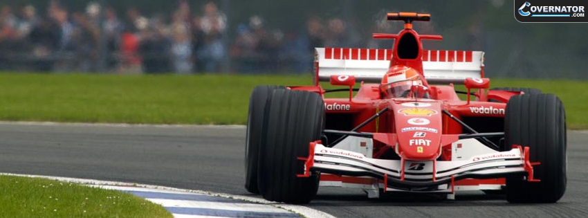Michael Schumacher Silverstone Facebook Cover