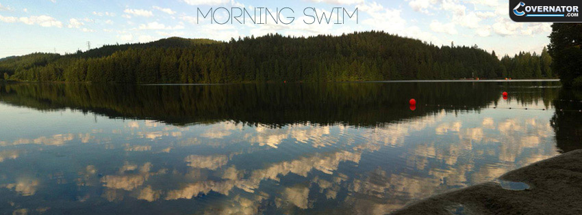 Morning Swim Facebook cover