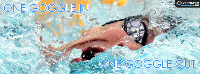 One Goggle In, One Goggle Out Facebook Cover