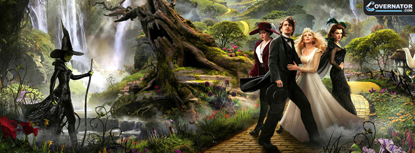 Oz The Great And Powerful Facebook Cover