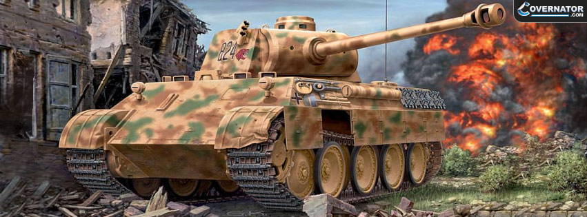 panther tank Facebook cover