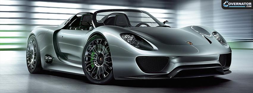 Porsche 918 Spyder Facebook Cover