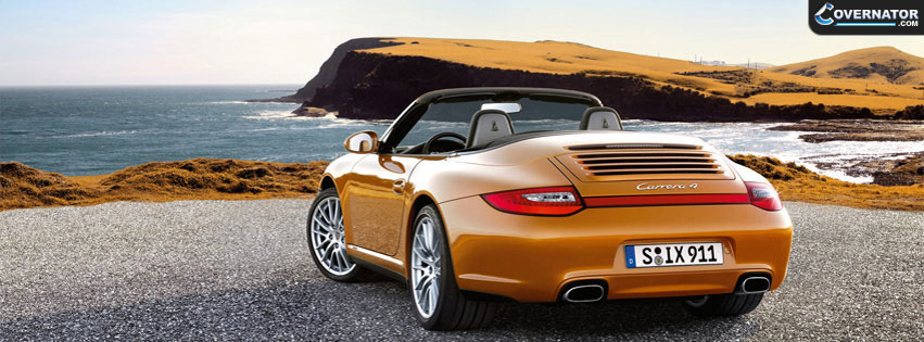 porsche carrera 4 Facebook cover