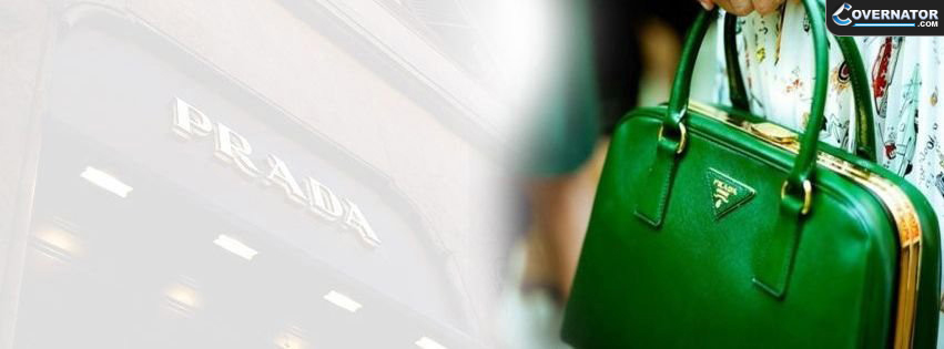 Prada Green Bag Facebook Cover
