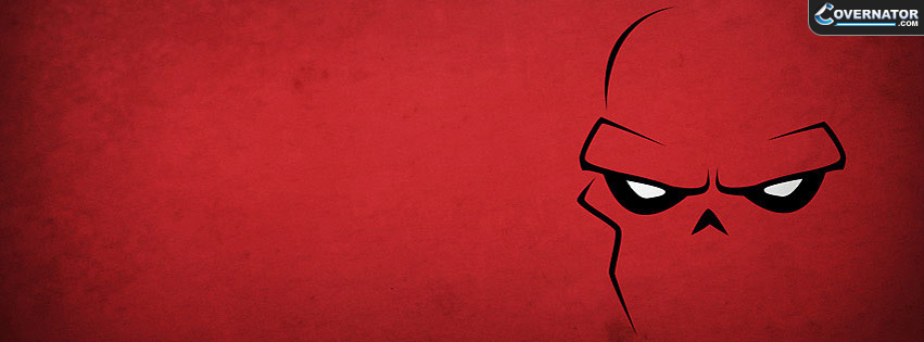 red skull Facebook cover