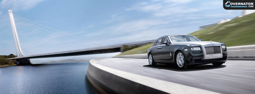 Rolls Royce Ghost Facebook Cover