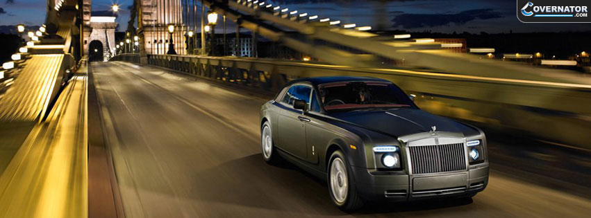 rolls royce phantom Facebook cover