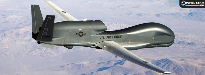 RQ-4 Global Hawk Facebook Cover