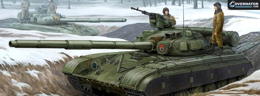 Soviet tank Facebook cover