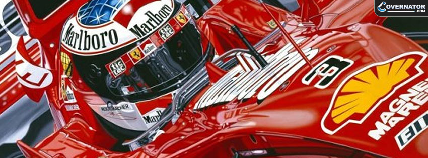 michael schumacher world champion Facebook cover