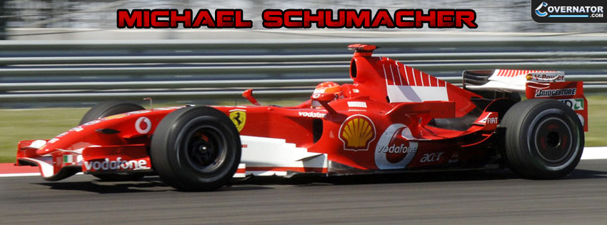 Michael Schumacher Facebook Cover