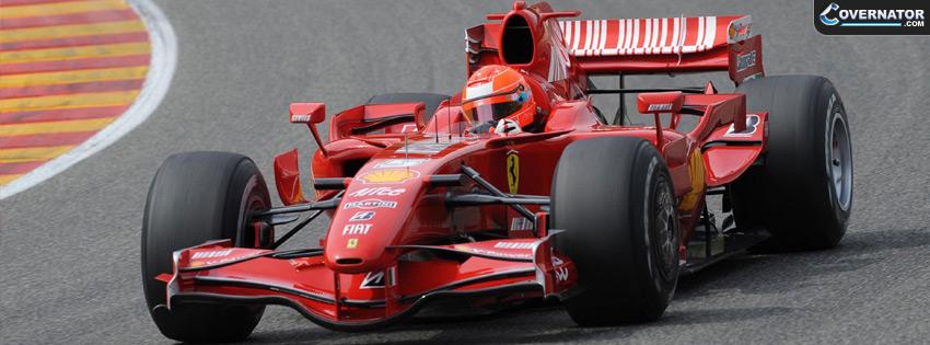 Michael Schumacher Ferrari Facebook Cover