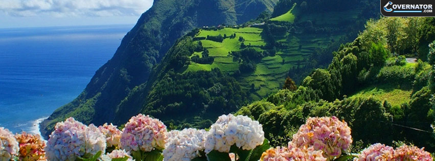 green mountains Facebook cover