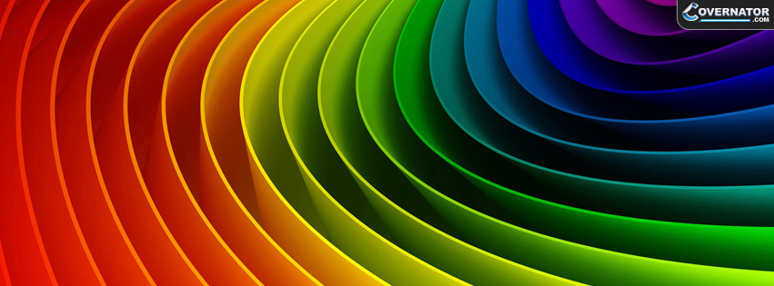 Color Stripes Facebook Cover