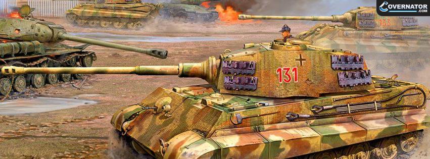 King Tiger Facebook Cover