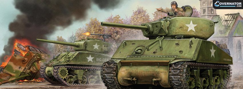 shermans advancing Facebook cover
