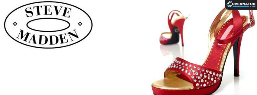 steve madden red heels Facebook cover