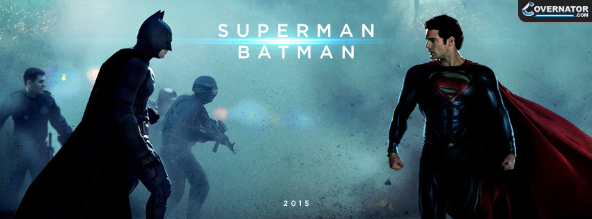 Superman Batman Facebook Cover