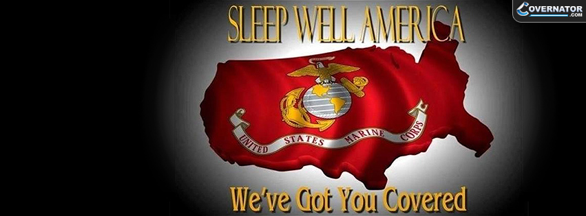 Sleep well America, we've got You covered. Facebook cover