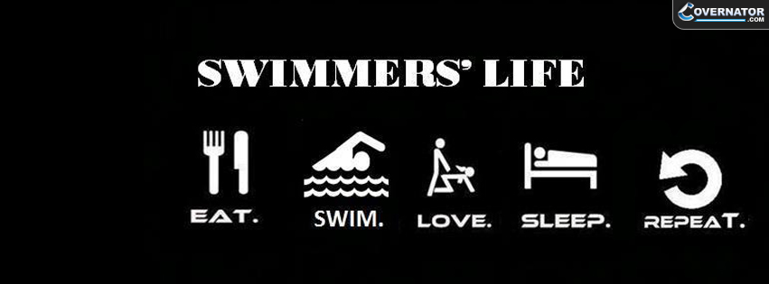 Swimmer's Life Facebook cover