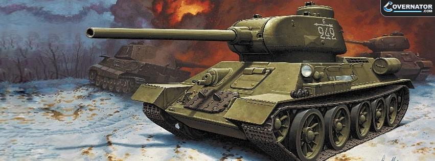 Soviet T-34-85 Facebook Cover