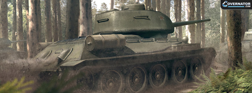 T-34-85 Facebook cover