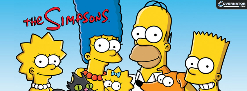 The Simpsons Facebook Cover