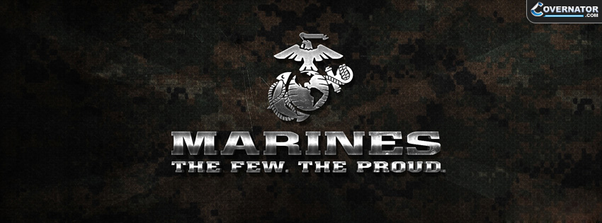 Marines. The Few, The Proud. Facebook Cover