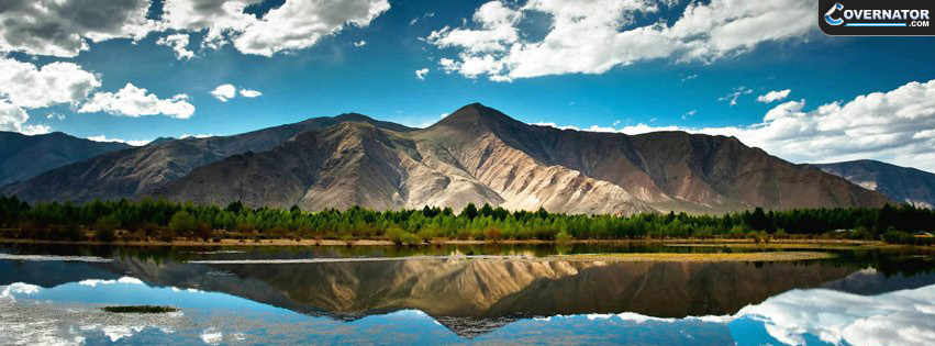 Tibet Mountains Facebook Cover