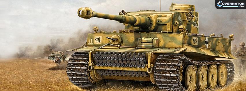 Tiger tank Facebook cover