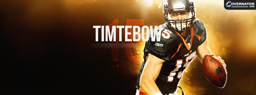 Tim Tebow Facebook cover