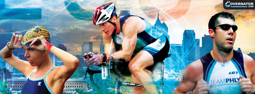 triathlon cover Facebook cover