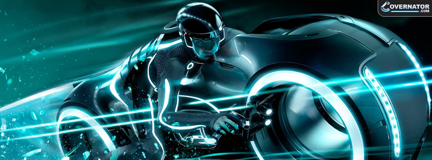 Tron Bike Facebook Cover