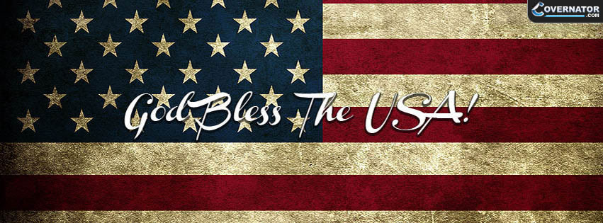 God Bless The USA! Facebook Cover