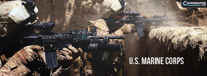 U.s. marine corps Facebook cover