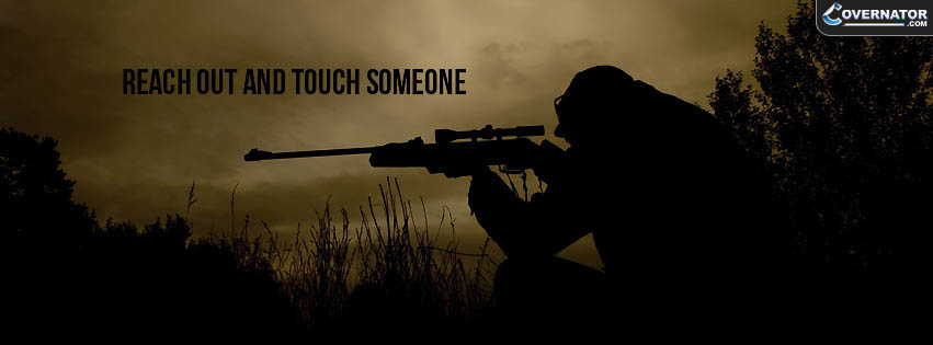 reach out and touch someone Facebook cover