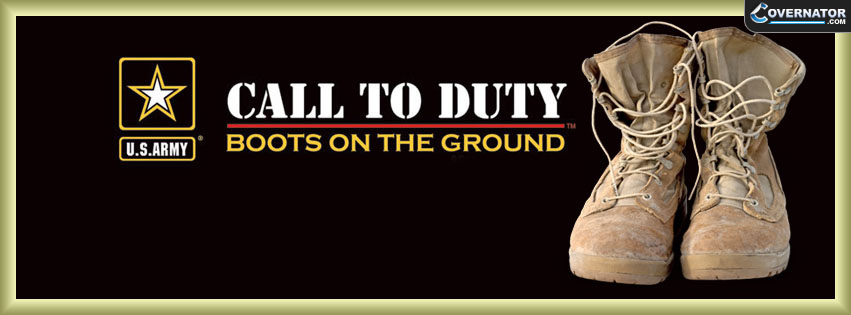 call of duty, boots on the ground Facebook cover