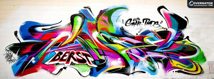unknown graffiti Facebook cover