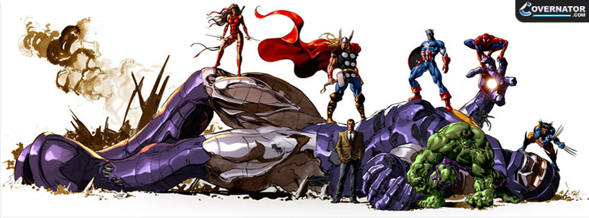 Avengers Facebook cover
