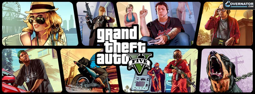 GTA V Alternative Facebook Cover