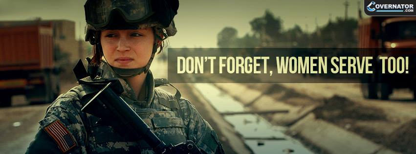 Women Serve too Facebook cover
